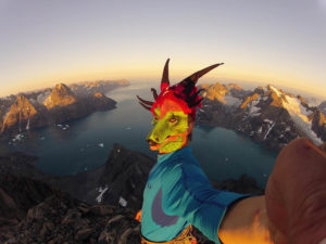 DCIM100GOPRO Mike Libecki summiting in Greenland, Year of the Dragon.